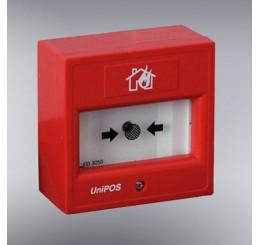 Ručni konvencionalni detektor požara (nelomljivo staklo) FD 3050