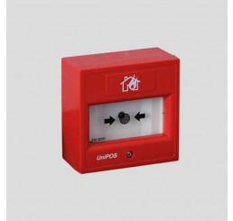 Ručni interaktivni adresibilni detektor požara (nelomljivo staklo) FD 7150