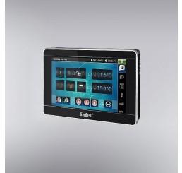 """Kolor TFT touchscreen displej 7"""", komandni centar za pametne alarmne sisteme, crne boje, INT-TSI-BSB"""