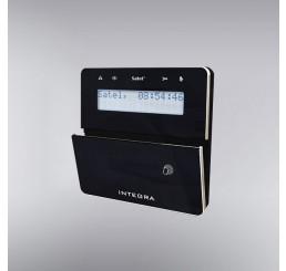 LCD tastatura sa ugrađenim RFID čitačem za centrale serije INTEGRA, crne boje, INT-KLFR-BSB