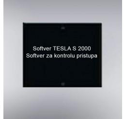 TESLA S osnovni softver za kontrolu pristupa 8 vrata TESLA S 2000